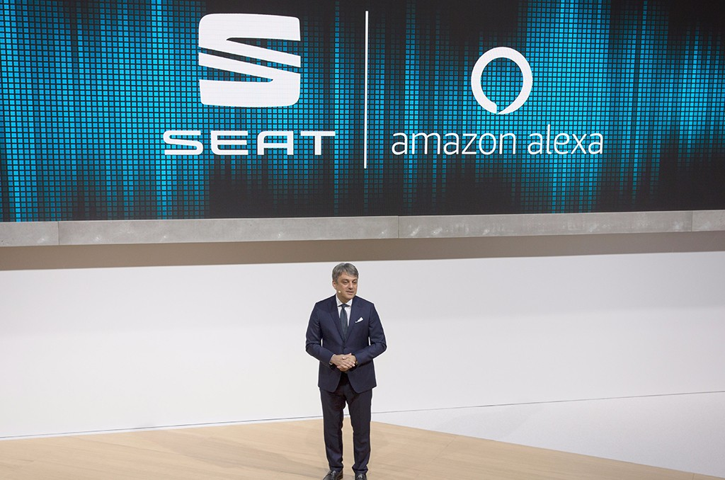 SEAT integrará Amazon Alexa en sus vehículos
