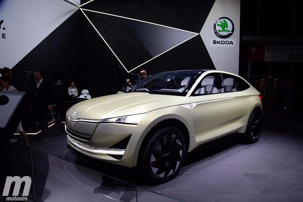 El nuevo Skoda Vision E Concept debuta con una imagen revisada