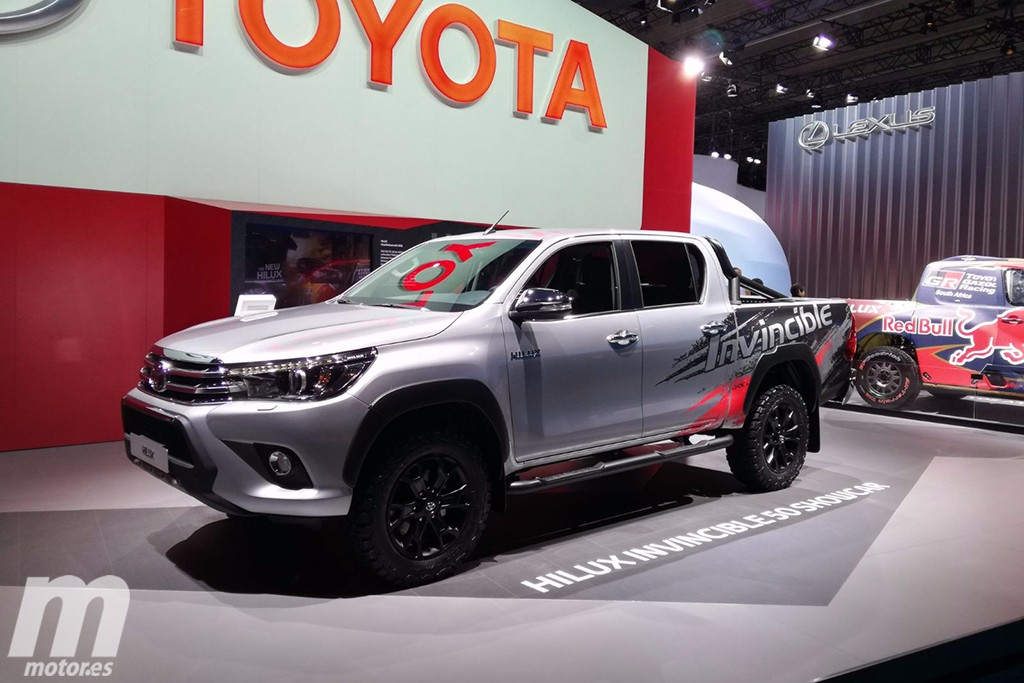 Toyota Hilux Invincible 50: celebrando medio siglo de éxito