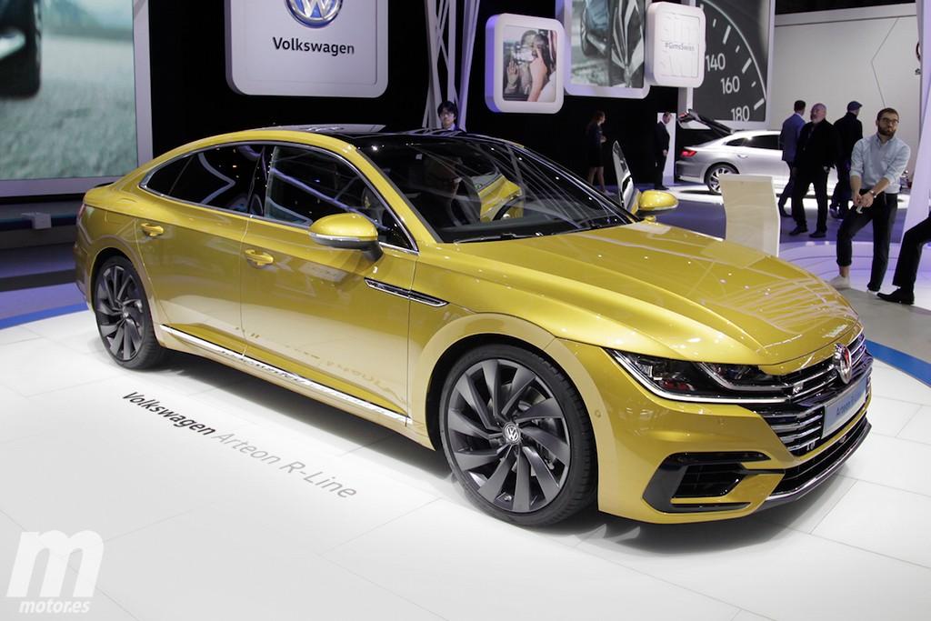 Volkswagen Arteon 2017: el sucesor del CC se desvela con una elegante imagen