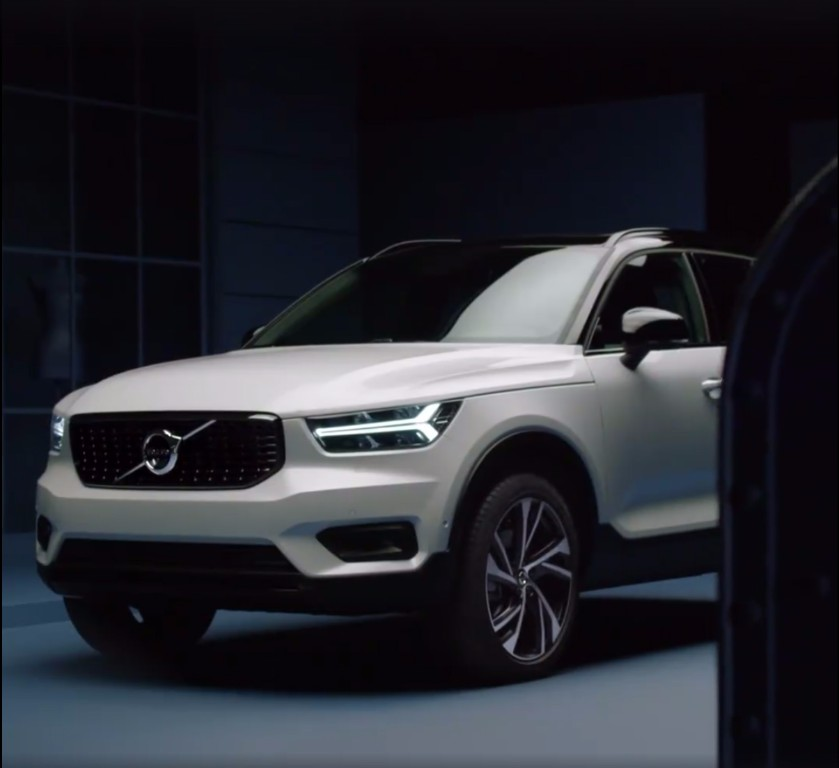 unveiled 2018 volvo xc40. Black Bedroom Furniture Sets. Home Design Ideas