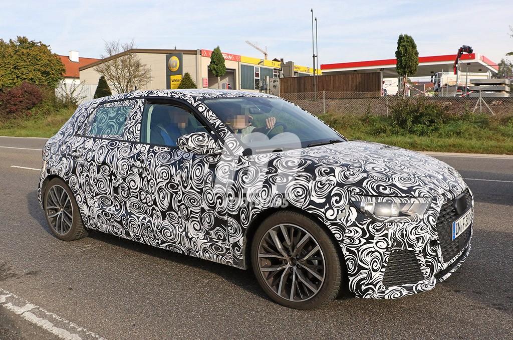 Un vistazo de cerca al nuevo Audi A1 2018: será más grande que su predecesor
