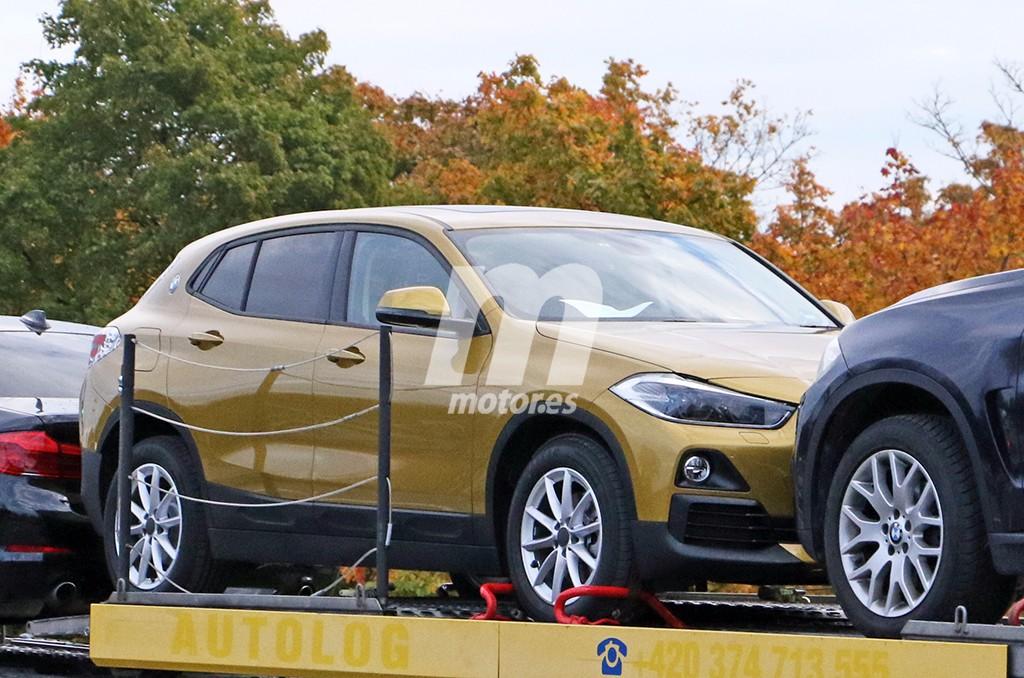 El esperado BMW X2 cazado casi sin camuflaje