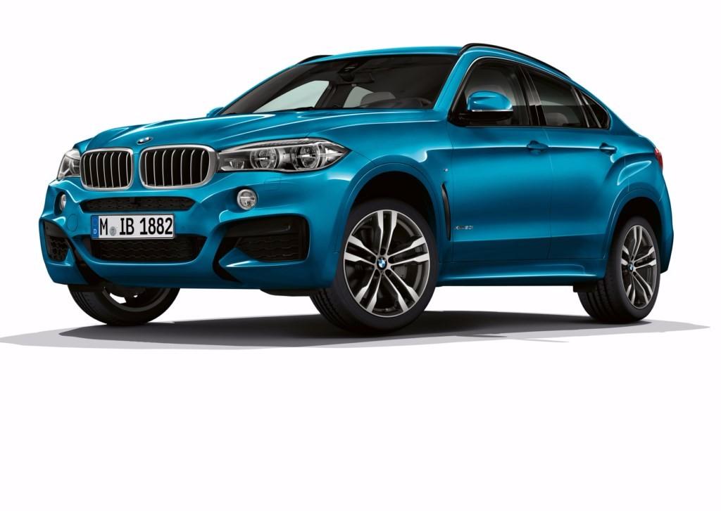 Los BMW X5 y X6, ahora más deportivos con dos ediciones especiales