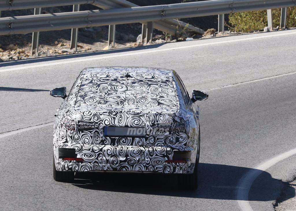 Cazamos al nuevo Audi A6 con sus luces traseras definitivas
