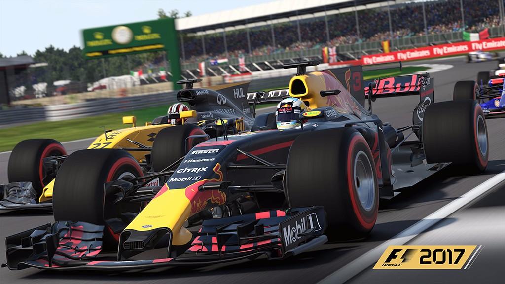 F1 2017 recibirá una interesante actualización con numerosas mejoras