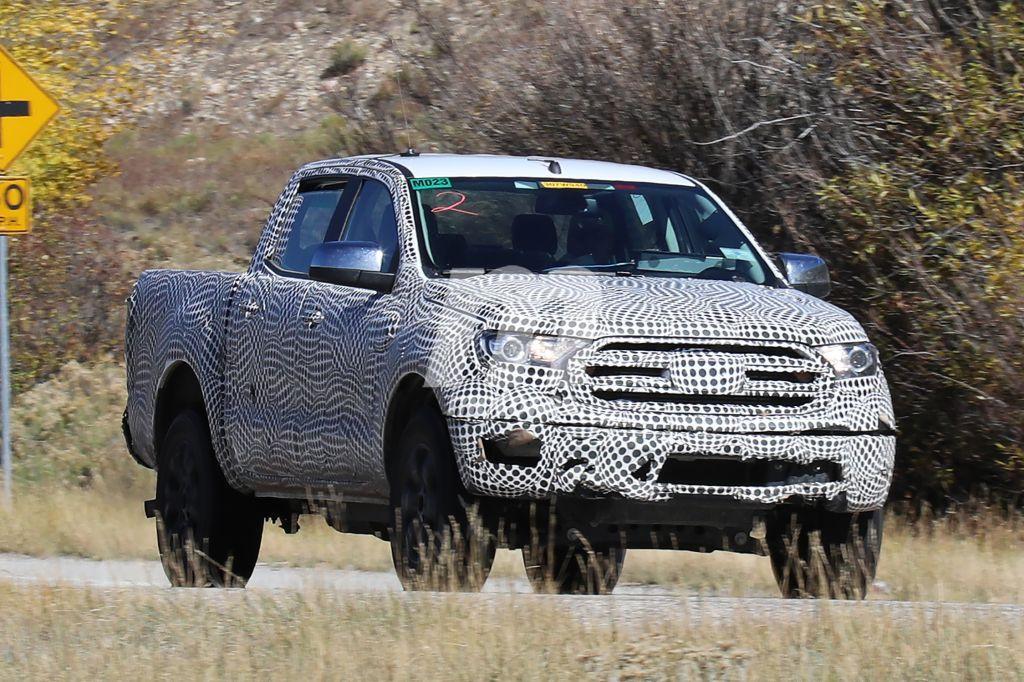 Ford Ranger 2019: nos asomamos a los bajos de la versión USA