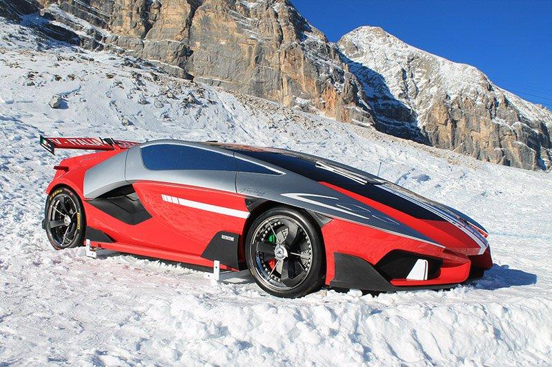 FV-Frangivento Asfanè: el nuevo deportivo italiano eléctrico de 900 CV