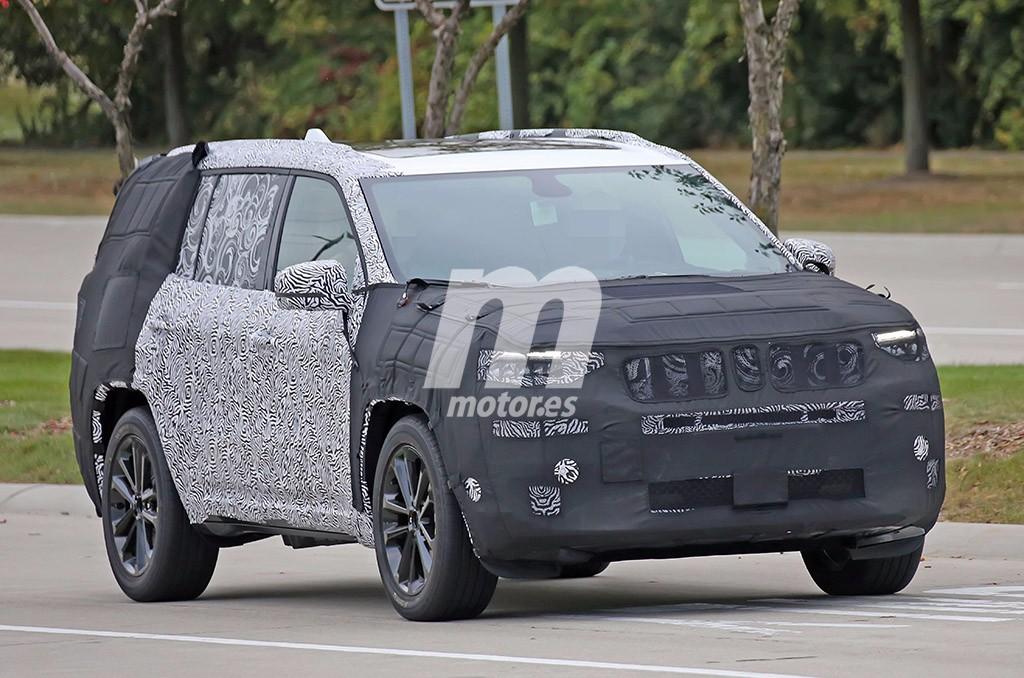El futuro Jeep Yuntu comienza sus pruebas en territorio americano