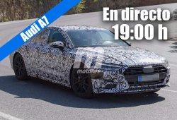 Sigue con nosotros la presentación en directo del Audi A7 Sportback 2018