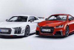 Audi Sport presenta su nuevo equipamiento Performance Part para los Audi TT y R8 en SEMA
