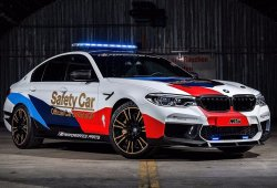 BMW M5 MotoGP Safety Car: seguridad y tecnología innovadora