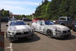 Los nuevos BMW Serie 8 Coupe y Cabrio frente a frente