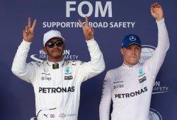 """Bottas achaca su mala clasificación a los frenos: """"Hamilton mejoró pero yo no pude"""""""