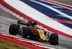 A Sainz le faltó gasolina para lograr la sexta plaza de Ocon en su debut con Renault