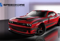 Dodge SRT Demon lightweight de fibra de carbono por Speedkore para el SEMA 2017