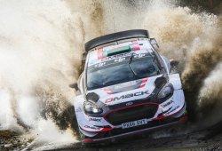 Elfyn Evans se destaca al frente del Rally de Gales