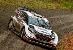 Elfyn Evans da el relevo a Ogier en el Rally de Gales