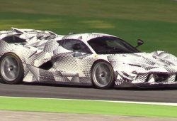 El Ferrari FXX K Evoluzione se presenta este fin de semana en Mugello