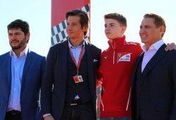 Ferrari sigue reforzando su Driver Academy con Robert Shwartzman