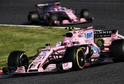 Force India planta cara a los 'cocos' en Suzuka