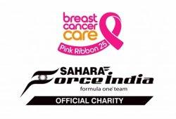 Force India inicia una campaña de sensibilización del cáncer de mama