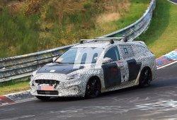 El futuro Ford Focus SportBreak 2019 se pasea por Nürburgring