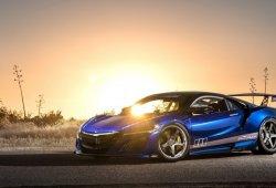 Honda NSX Dream Project: mucha fibra de carbono y 619 CV para este NSX