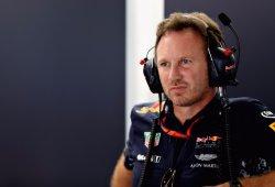 Horner inisinúa que una ampolla en el neumático dejó a Verstappen sin victoria