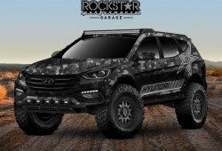Hyundai presenta el Santa Fe Rockstar Energy Moab Extreme Concept