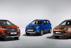 Los futuros SUV de Ford al descubierto