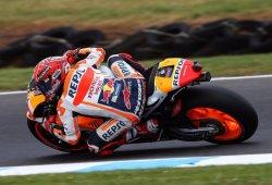Márquez supera a Viñales por la pole del GP de Australia