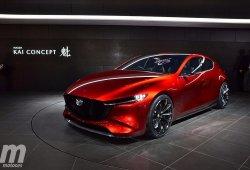Mazda Kai Concept: el Mazda 3 del futuro nos muestra el motor SKYACTIV-X
