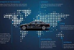Mercedes avanza en la conducción autónoma con un proyecto que recorrerá los cinco continentes
