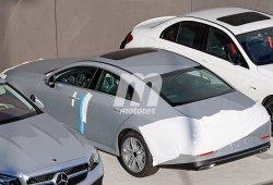 El nuevo Mercedes Clase CLS 2018 al descubierto casi por completo