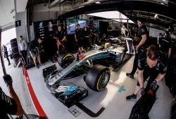 """Hamilton: """"Ha sido un gran día, el coche es increíble"""""""