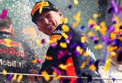 """Verstappen: """"El inicio fue crucial, lo intenté por fuera y funcionó"""""""