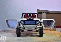 e-Survivor Concept, la apuesta futurista más aventurera de Suzuki debuta en el Salón de Tokio