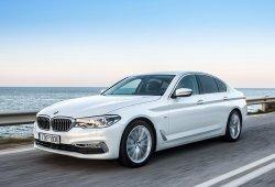 Alemania - Septiembre 2017: La sorpresa es el BMW Serie 5