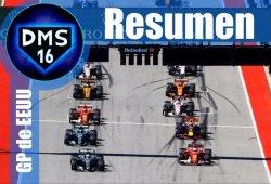 [Vídeo] Resumen del GP de Estados Unidos F1 2017