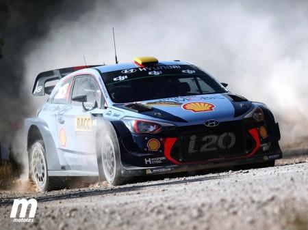 Mikkelsen aguanta el ataque de Ogier en el Rally RACC