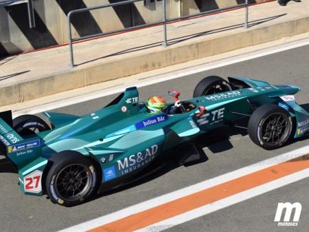 Andretti trabaja en una doble apuesta con Sims y Blomqvist