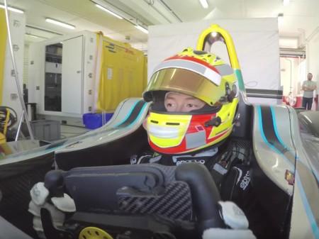 Así rueda un Fórmula E en el Circuito Ricardo Tormo
