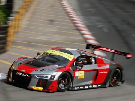 Cinco Audi R8 LMS GT3 a la 'caza' de la FIA GT World Cup