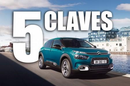 Las 5 claves del Citroën C4 Cactus 2018: una esperada renovación