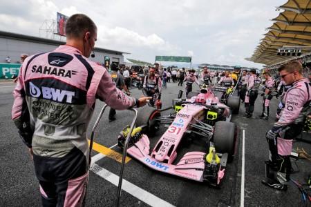 Force India acusa a sus rivales de incumplir el reglamento