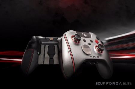 Scuf Forza Elite: el gamepad inspirado en Forza 7 y el Porsche 911 GT2 RS
