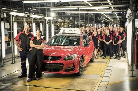 Holden finaliza la producción de vehículos en Australia