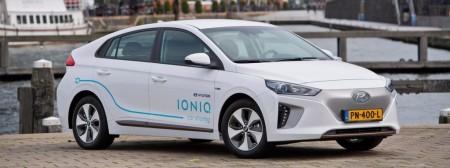 Hyundai inaugura su primer Car sharing en Amsterdam con el IONIQ
