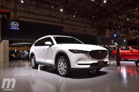 El nuevo Mazda CX-8 debuta en el Salón de Tokio 2017
